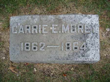MOREY, CARRIE E. - Union County, Ohio | CARRIE E. MOREY - Ohio Gravestone Photos