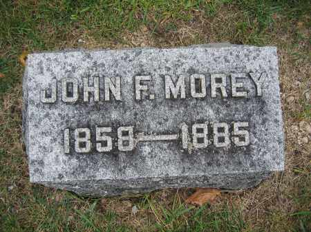MOREY, JOHN F. - Union County, Ohio | JOHN F. MOREY - Ohio Gravestone Photos