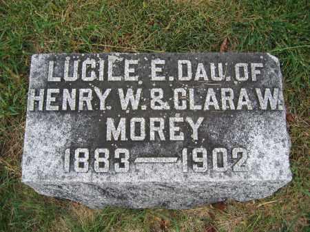 MOREY, LUCILE E. - Union County, Ohio | LUCILE E. MOREY - Ohio Gravestone Photos