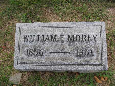 MOREY, WILLIAM F. - Union County, Ohio | WILLIAM F. MOREY - Ohio Gravestone Photos