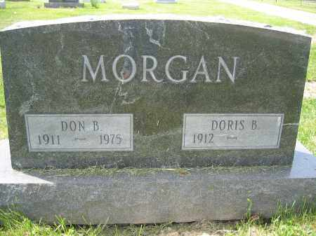 MORGAN, DON B. - Union County, Ohio | DON B. MORGAN - Ohio Gravestone Photos