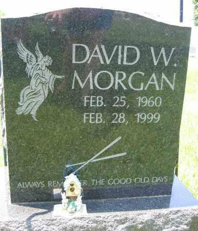 MORGAN, DAVID W. - Union County, Ohio | DAVID W. MORGAN - Ohio Gravestone Photos