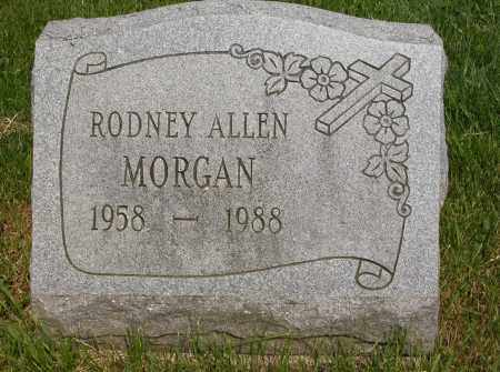 MORGAN, RODNEY ALLEN - Union County, Ohio | RODNEY ALLEN MORGAN - Ohio Gravestone Photos