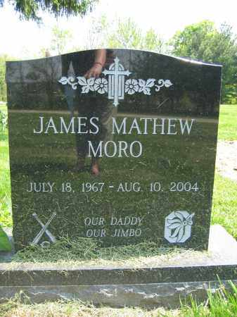 MORO, JAMES MATHEW - Union County, Ohio | JAMES MATHEW MORO - Ohio Gravestone Photos