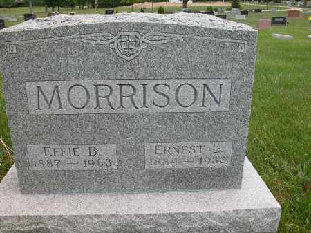 MORRISON, EFFIE B. - Union County, Ohio | EFFIE B. MORRISON - Ohio Gravestone Photos