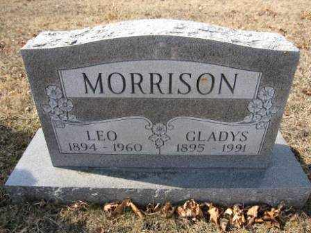 MORRISON, LEO - Union County, Ohio | LEO MORRISON - Ohio Gravestone Photos