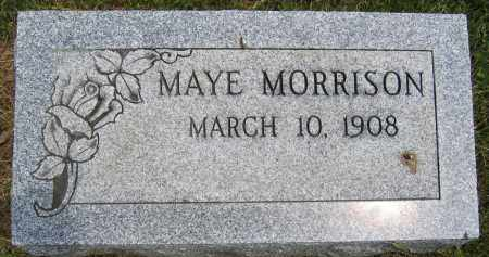 MORRISON, MAY - Union County, Ohio | MAY MORRISON - Ohio Gravestone Photos