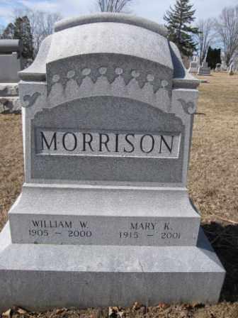 MORRISON, WILLIAM W. - Union County, Ohio | WILLIAM W. MORRISON - Ohio Gravestone Photos