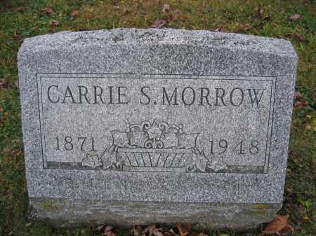 MORROW, CARRIE S. - Union County, Ohio | CARRIE S. MORROW - Ohio Gravestone Photos