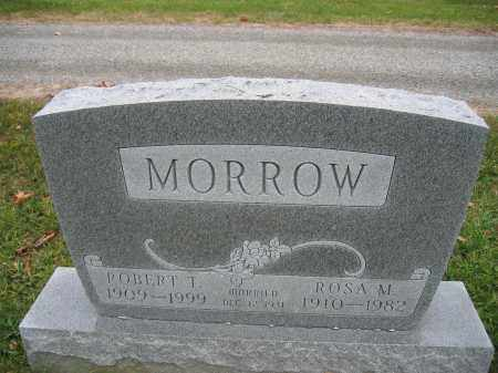 MORROW, ROBERT T. - Union County, Ohio | ROBERT T. MORROW - Ohio Gravestone Photos