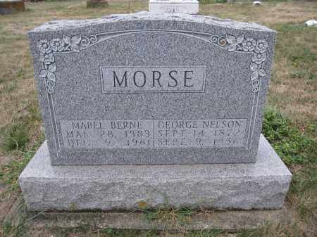MORSE, MABEL BERNE - Union County, Ohio | MABEL BERNE MORSE - Ohio Gravestone Photos