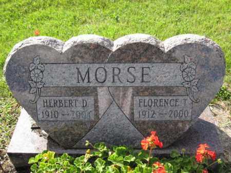 MORSE, FLORENCE T. - Union County, Ohio | FLORENCE T. MORSE - Ohio Gravestone Photos