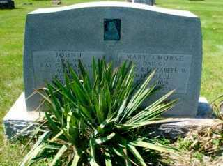 MORSE, MARY JANE - Union County, Ohio | MARY JANE MORSE - Ohio Gravestone Photos