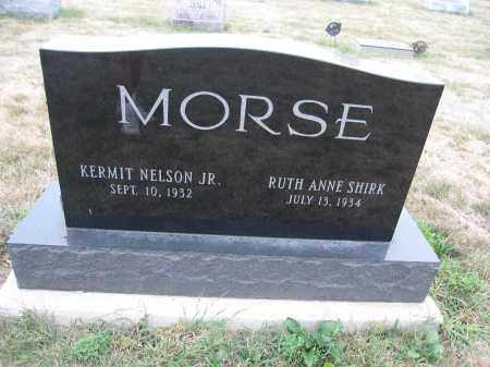 MORSE, RUTH ANNE SHIRK - Union County, Ohio | RUTH ANNE SHIRK MORSE - Ohio Gravestone Photos