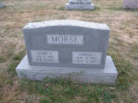 MORSE, VERNEDA L. - Union County, Ohio | VERNEDA L. MORSE - Ohio Gravestone Photos