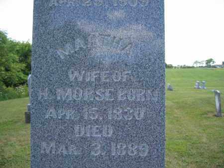 MORSE, MARTHA - Union County, Ohio   MARTHA MORSE - Ohio Gravestone Photos
