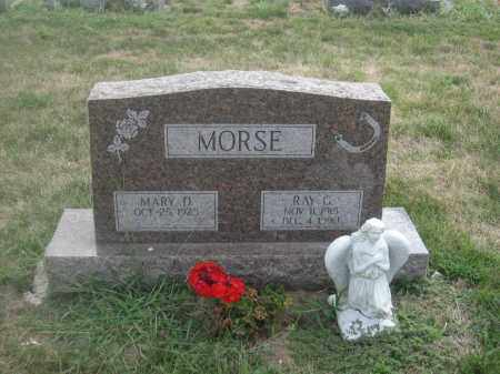 MORSE, MARY D. - Union County, Ohio | MARY D. MORSE - Ohio Gravestone Photos