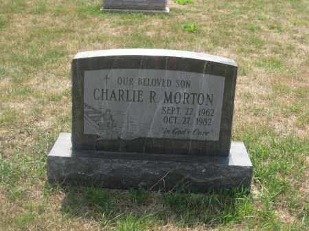 MORTON, CHARLIE R. - Union County, Ohio | CHARLIE R. MORTON - Ohio Gravestone Photos