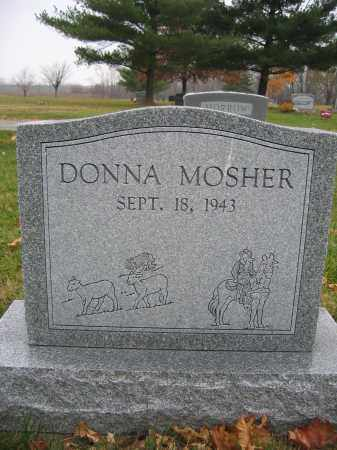 MOSHER, DONNA - Union County, Ohio | DONNA MOSHER - Ohio Gravestone Photos