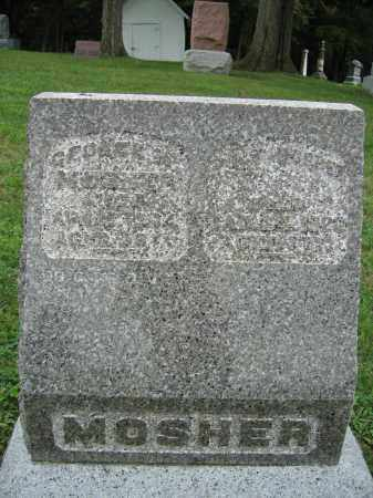 MOSHER, GEORGE - Union County, Ohio | GEORGE MOSHER - Ohio Gravestone Photos