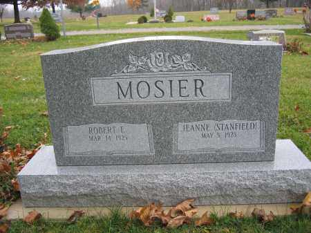 MOSIER, JEANNE STANFIELD - Union County, Ohio | JEANNE STANFIELD MOSIER - Ohio Gravestone Photos