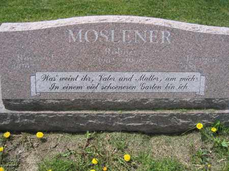 MOSLENER, ROTRAUD - Union County, Ohio | ROTRAUD MOSLENER - Ohio Gravestone Photos