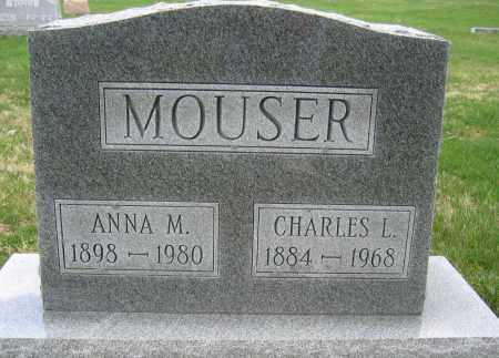 MOUSER, ANNA M. - Union County, Ohio | ANNA M. MOUSER - Ohio Gravestone Photos