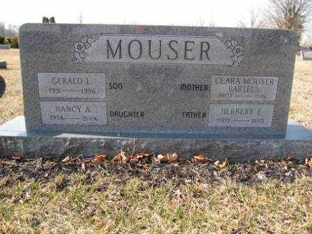 MOUSER-BARTELS, CLARA - Union County, Ohio | CLARA MOUSER-BARTELS - Ohio Gravestone Photos
