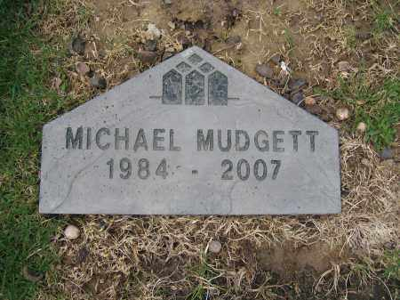 MUDGETT, MICHAEL - Union County, Ohio | MICHAEL MUDGETT - Ohio Gravestone Photos