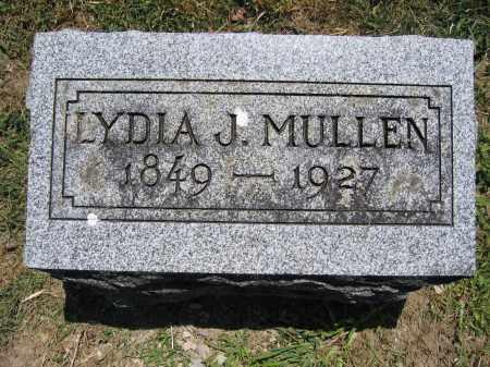 MULLEN, LYDIA J. - Union County, Ohio | LYDIA J. MULLEN - Ohio Gravestone Photos