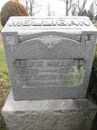 MULLIGAN, ELIZABETH RANKIN - Union County, Ohio | ELIZABETH RANKIN MULLIGAN - Ohio Gravestone Photos