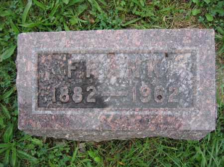 MULVAIN, FRANK - Union County, Ohio | FRANK MULVAIN - Ohio Gravestone Photos