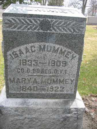MUMMEY, MARY A. - Union County, Ohio | MARY A. MUMMEY - Ohio Gravestone Photos