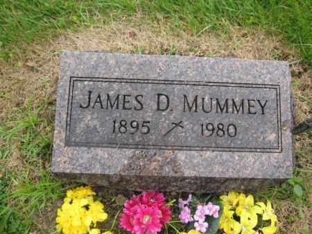 MUMMEY, JAMES D. - Union County, Ohio | JAMES D. MUMMEY - Ohio Gravestone Photos