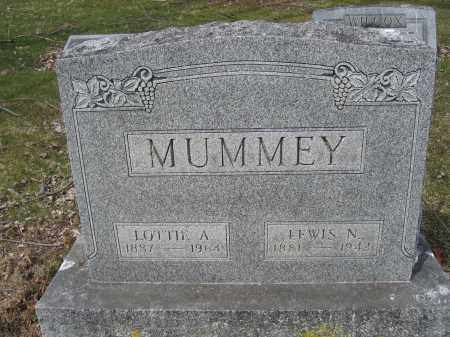 MUMMEY, LEWIS N. - Union County, Ohio | LEWIS N. MUMMEY - Ohio Gravestone Photos