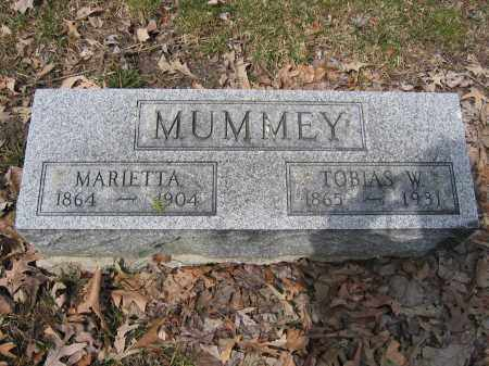 MUMMEY, MARIETTA - Union County, Ohio | MARIETTA MUMMEY - Ohio Gravestone Photos