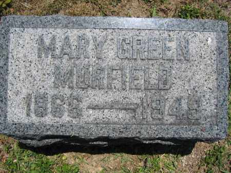 MURFIELD, MARY GREEN - Union County, Ohio | MARY GREEN MURFIELD - Ohio Gravestone Photos