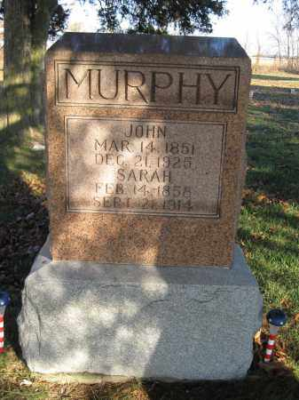 MURPHY, SARAH - Union County, Ohio | SARAH MURPHY - Ohio Gravestone Photos