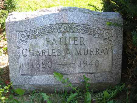 MURRAY, CHARLES A. - Union County, Ohio | CHARLES A. MURRAY - Ohio Gravestone Photos