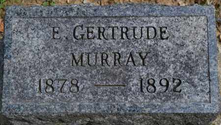 MURRAY, E. GERTRUDE - Union County, Ohio | E. GERTRUDE MURRAY - Ohio Gravestone Photos