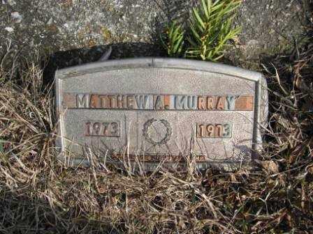 MURRAY, MATTHEW A. - Union County, Ohio | MATTHEW A. MURRAY - Ohio Gravestone Photos