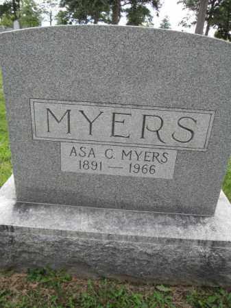 MYERS, ASA - Union County, Ohio | ASA MYERS - Ohio Gravestone Photos