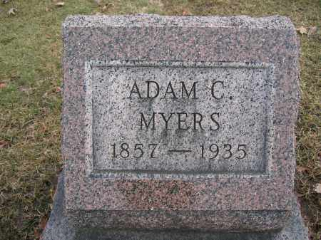 MYERS, ADAM C. - Union County, Ohio | ADAM C. MYERS - Ohio Gravestone Photos
