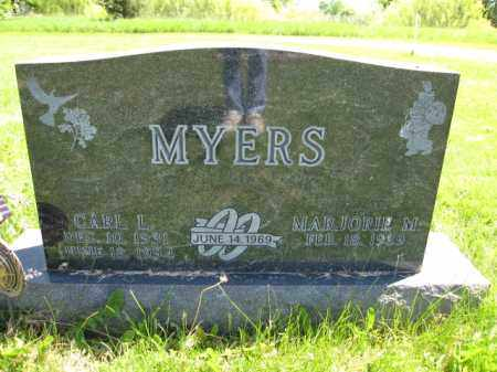 MYERS, MARJORIE M. - Union County, Ohio | MARJORIE M. MYERS - Ohio Gravestone Photos
