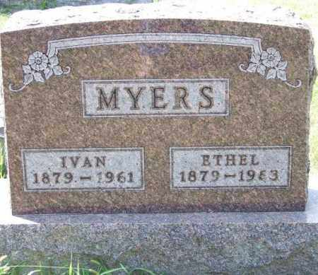 MYERS, ETHEL - Union County, Ohio | ETHEL MYERS - Ohio Gravestone Photos
