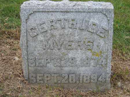 MYERS, GERTRUDE - Union County, Ohio | GERTRUDE MYERS - Ohio Gravestone Photos
