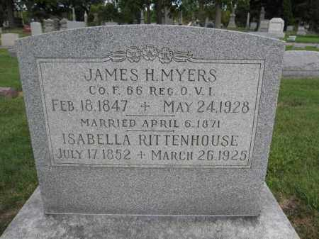 MYERS, JAMES H. - Union County, Ohio | JAMES H. MYERS - Ohio Gravestone Photos