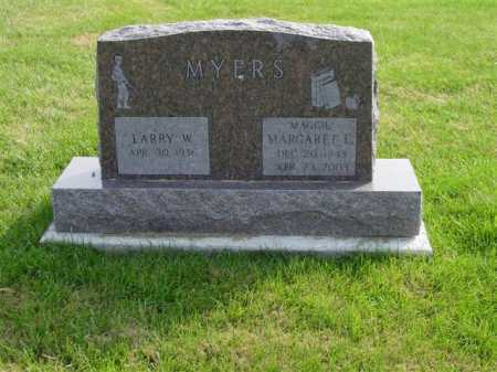 MYERS, LARRY W. - Union County, Ohio | LARRY W. MYERS - Ohio Gravestone Photos