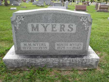 MYERS, M.M. - Union County, Ohio | M.M. MYERS - Ohio Gravestone Photos