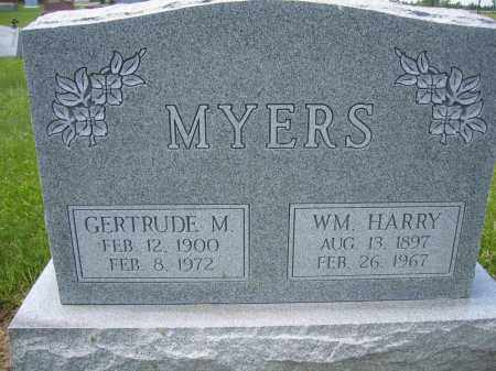 MYERS, GERTRUDE M. - Union County, Ohio | GERTRUDE M. MYERS - Ohio Gravestone Photos